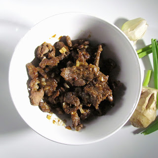 Stir-fried Ginger Beef