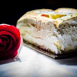 flower n cake by Eric Sibuea - Food & Drink Cooking & Baking ( rose, kue, eric salvasa )