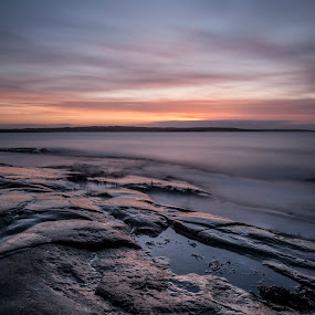 by Patrick Pedersen - Landscapes Waterscapes ( water, hvaler, fredrikstad, waterscape, patrick, vann, long exposure, aqua, landscape, skies, norway )