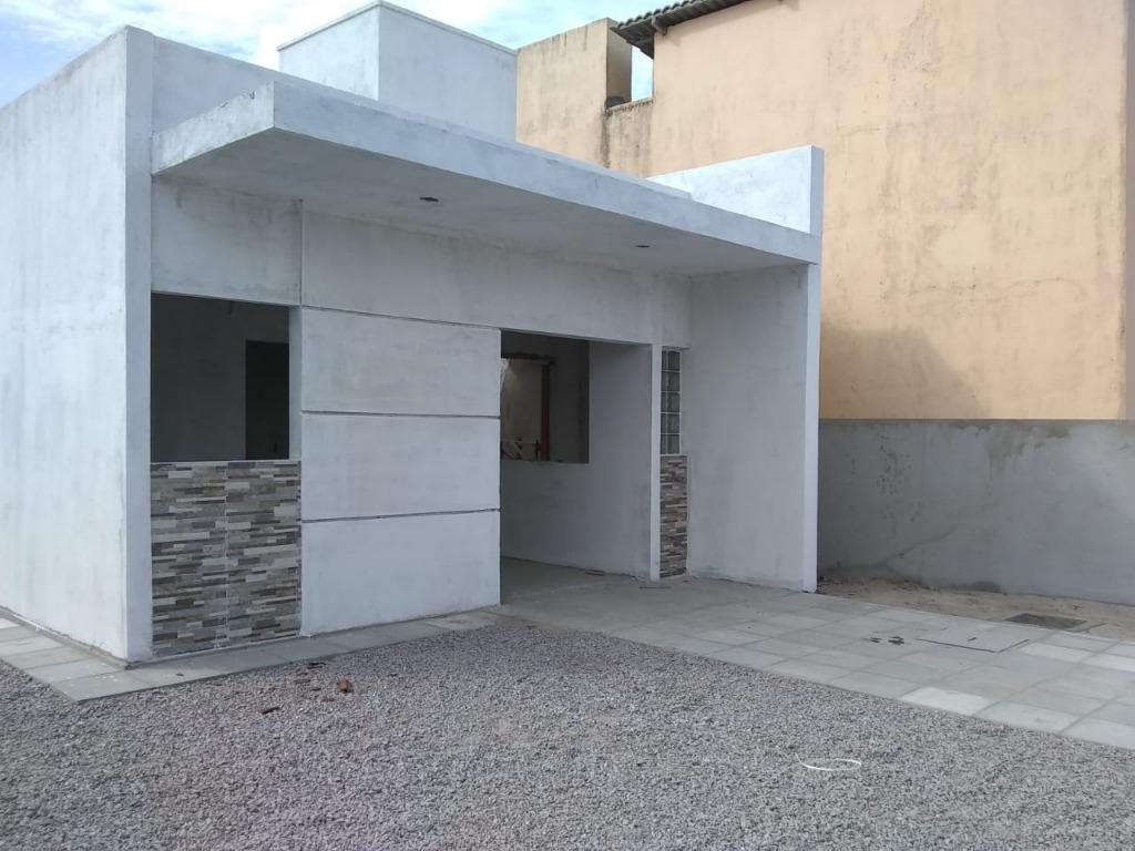 Casa com 2 dormitórios à venda, 55 m² por R$ 145.000 - Carapibus - Conde/PB