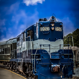 Engine 1026 by Liam Douglas - Transportation Trains ( railway, engine, railroad, outdoors, train, museum,  )