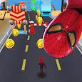 Subway avengers Infinity Dash: spiderman & ironman