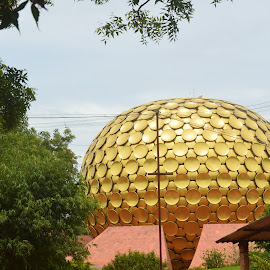 AUROVILLE MATRI MANDIR by Prakash Pc - Landscapes Travel