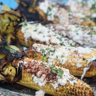Healthy Grilled Mexican Corn