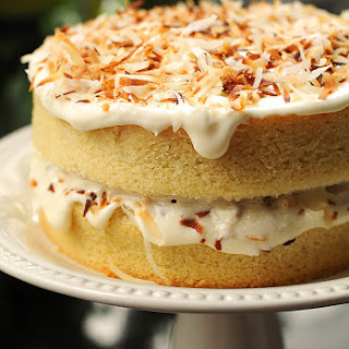 Vanilla Cake With Coconut Frosting Recipes