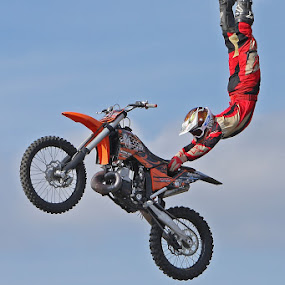Brave by Peter Parker - Transportation Motorcycles ( rider, bike, fly, motorcycle, stunt, jump )
