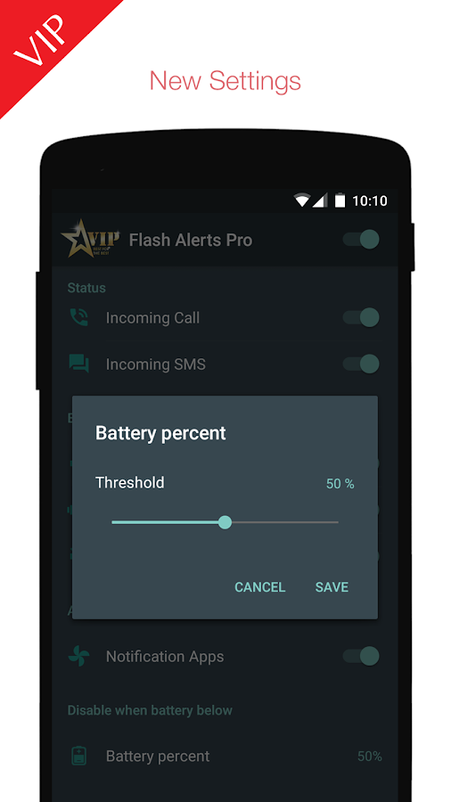Flash Alerts PREMIUM Screenshot 4