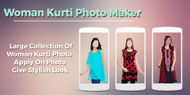 Women Kurti Photo Maker