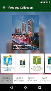 Tropicana Corporation Berhad - screenshot