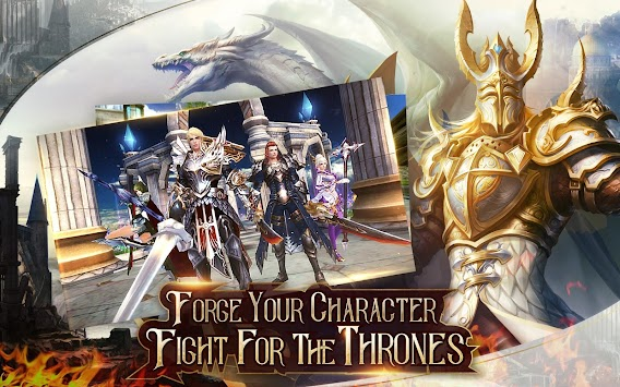 Immortal Thrones-3D Fantasy Mobile MMORPG APK screenshot thumbnail 14
