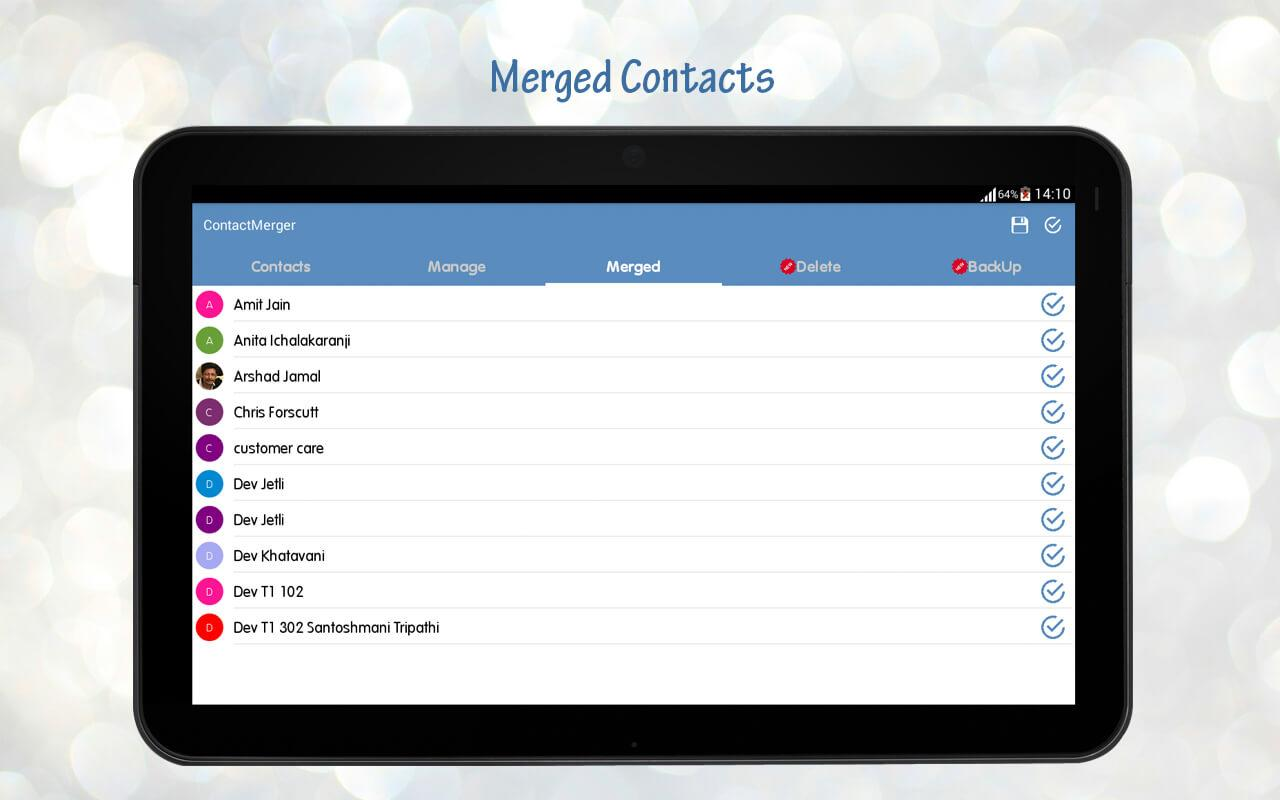 Duplicate Contact Merger Screenshot 19