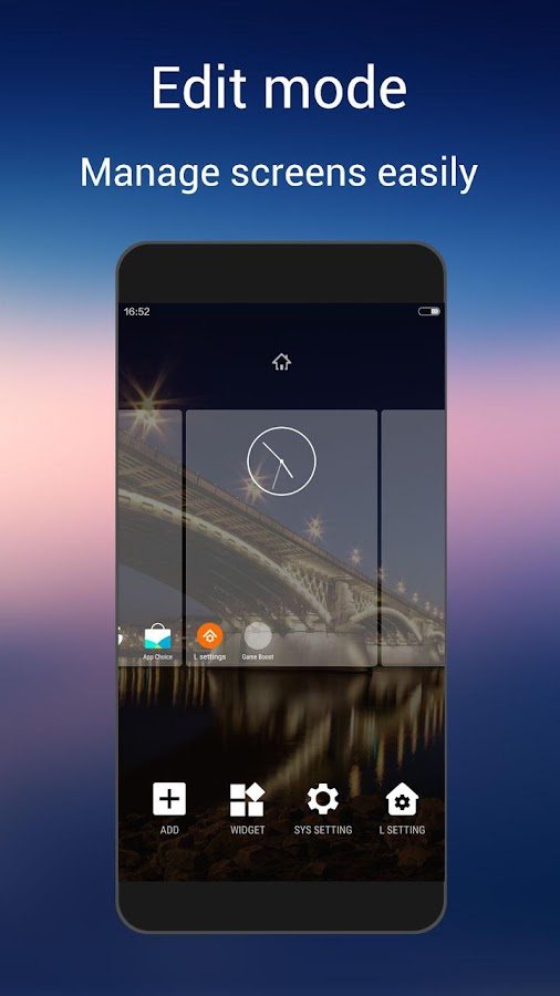 L Launcher -Marshmallow Launch Screenshot 2
