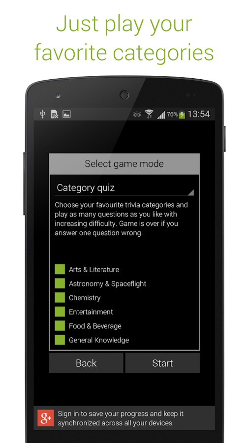 Quizoid Pro: Category Trivia Screenshot 4