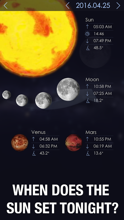 Star Walk 2 - Sky Guide: View Stars Day and Night Screenshot 3