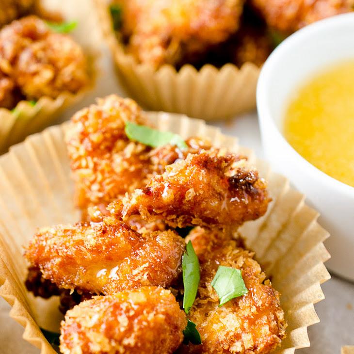 Chipotle Popcorn Chicken with Honey Mayo Recipe | Yummly