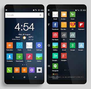 CM12.x/CM13 MIUI V7 Dark- screenshot thumbnail