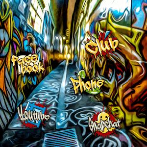 Мода Граффити Street Art