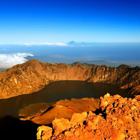 Mt. Rinjani by Idham Halid - Landscapes Mountains & Hills