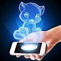 Download Hologram Kitten 3D Simulator APK for Android Kitkat