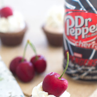 Dr. Pepper Cherry® Cheesecake Cookie Cups