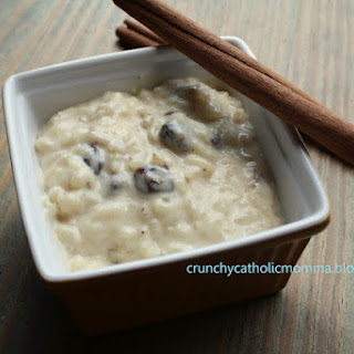 As good as Rice to Riches Rice Pudding