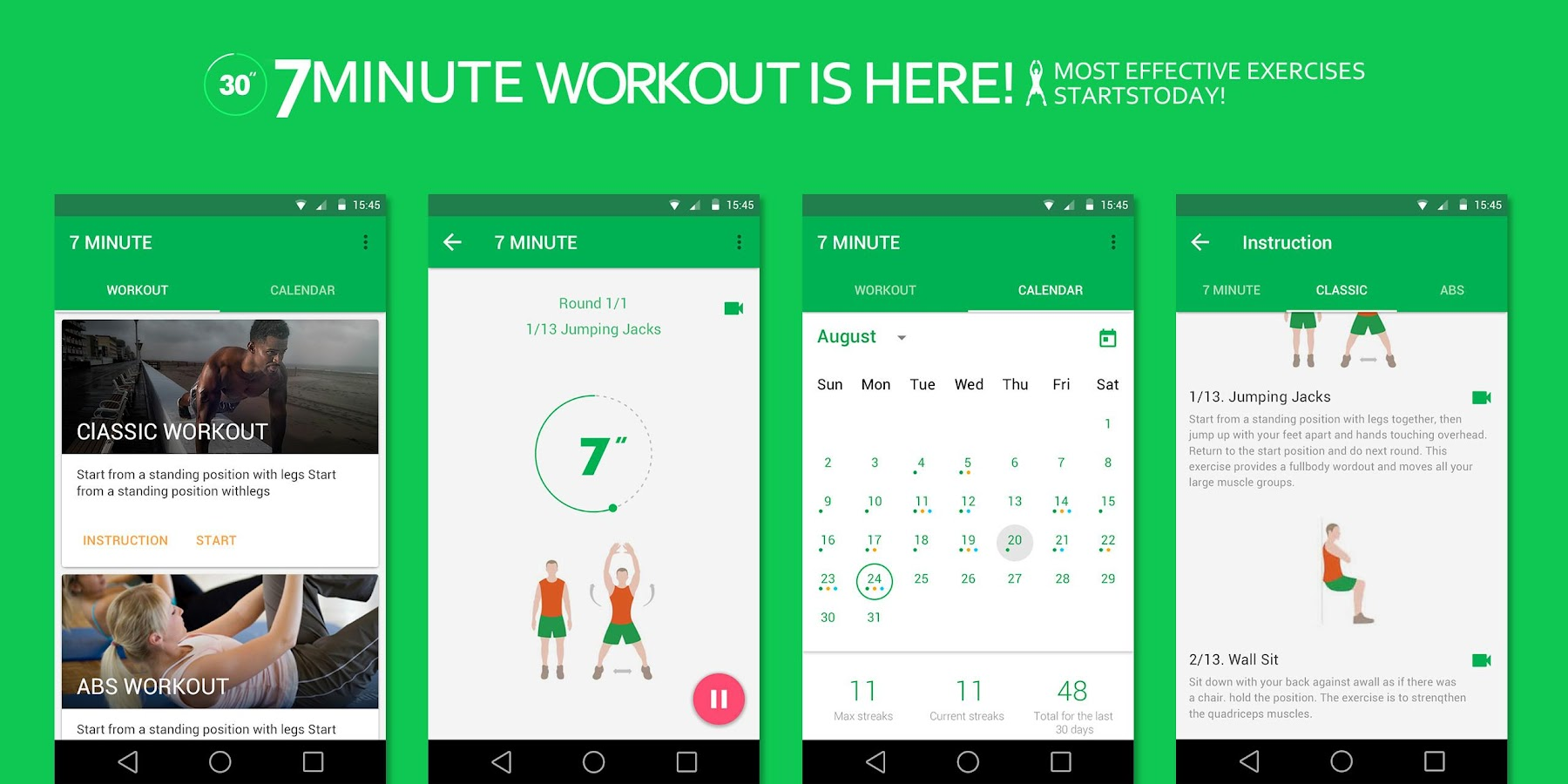 7 Minute Workout Pro Screenshot