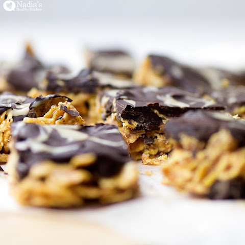 Chocolate Covered Cornflake Squares
