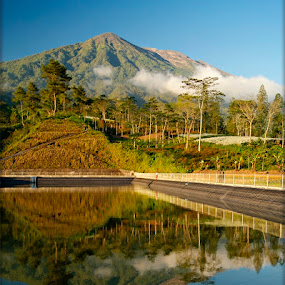 Reflection is beuty by Widiantara Made - Landscapes Mountains & Hills