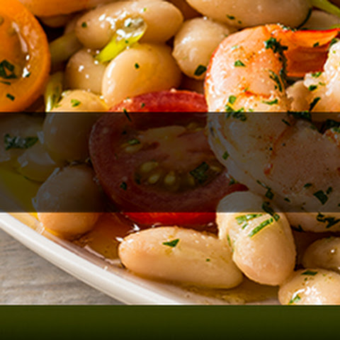 Marinated Shrimp and Cannellini Beans