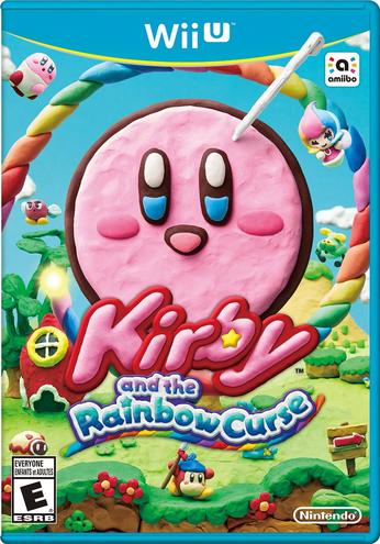 Kirby and the Rainbow Curse - box art