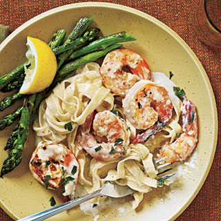Seafood Fettuccine Alfredo Cream Cheese Recipes