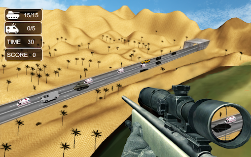 Desert sniper war action - screenshot