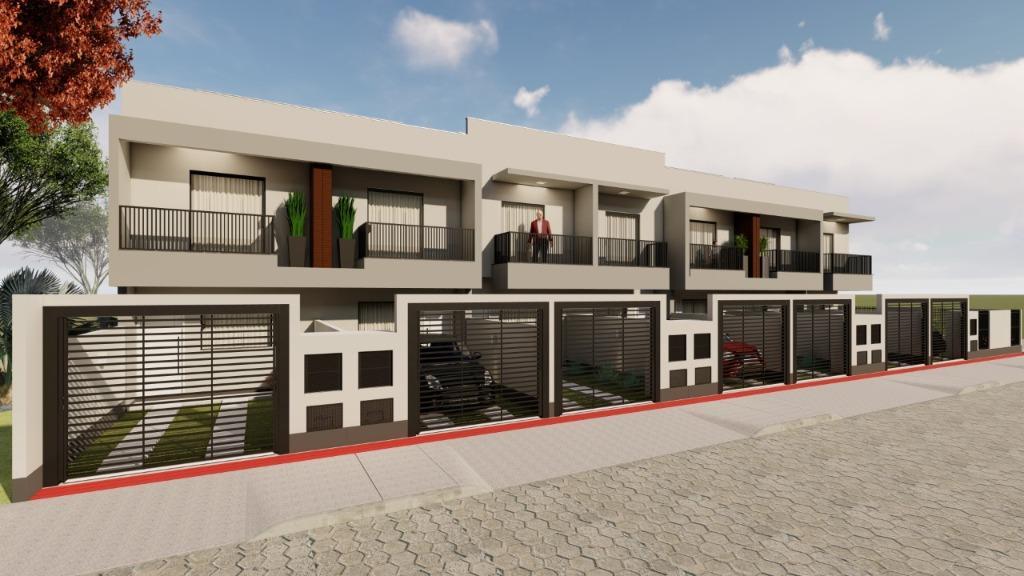 Sobrado com 2 dormitórios à venda, 60 m² por R$ 170.000 - Centro - Tijucas/SC