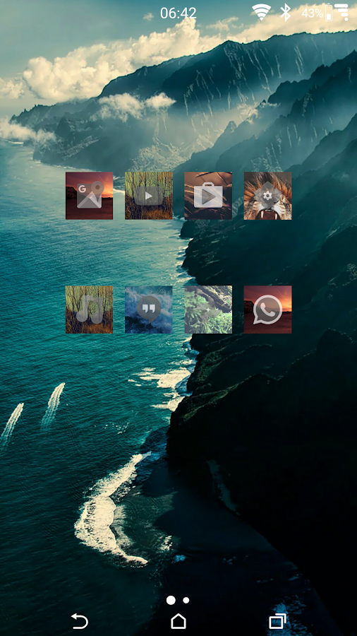 Zen Nature Icons Screenshot 0