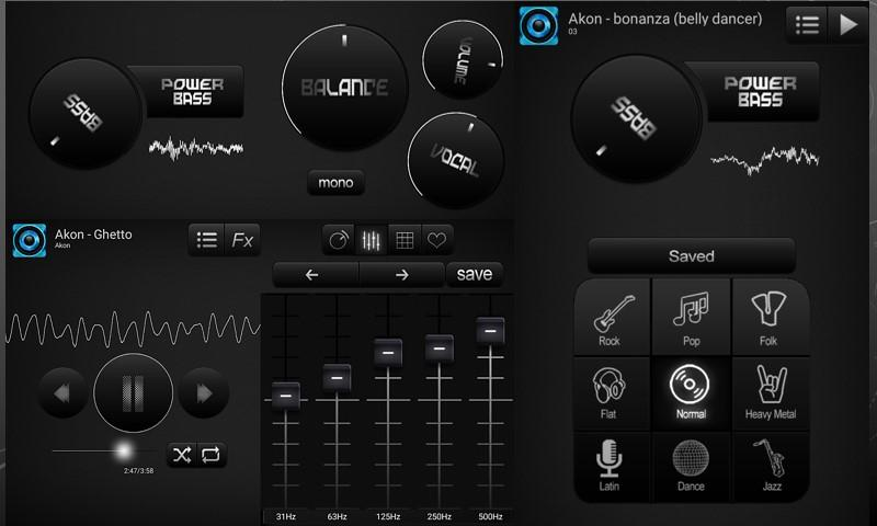 Bass Booster and Equalizer Pro Screenshot 1