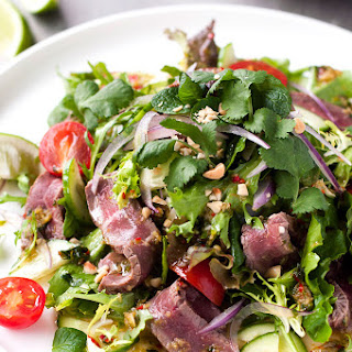 Thai Beef Salad Coriander Mint Recipes