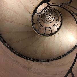Sous l'escalier by Céline Touchette - Buildings & Architecture Public & Historical