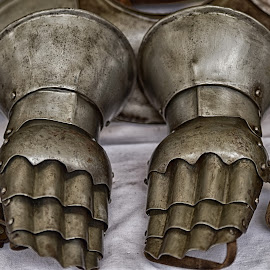 Hand Protection by Marco Bertamé - Artistic Objects Clothing & Accessories ( protection, middle ages, metal, gloves, medieval, knight )