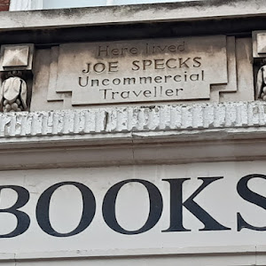 Here Lived Joe Specs Uncommercial Traveller Submitted by @curious_kent
