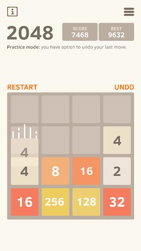 2048 Number puzzle game screenshot 14