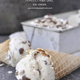 Malted Milk Ball Ice Cream Recipes