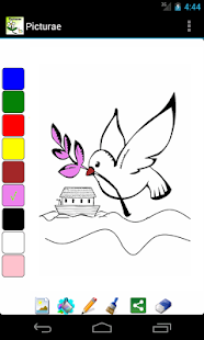 Picturae - Coloring Bible - screenshot