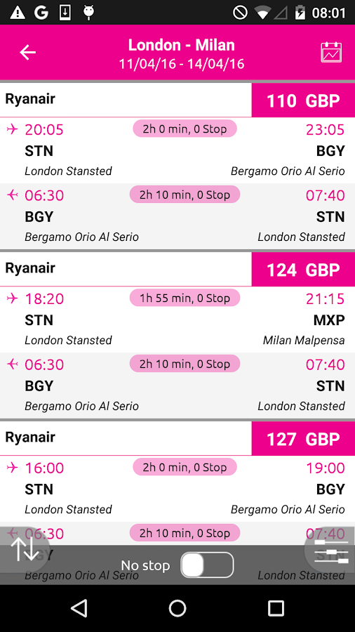 lastminute.com hotel & flights Screenshot 3