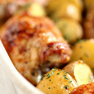 Honey Baked Chicken and Potatoes