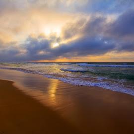 ST Lucia Sunrise by Louis Pretorius - Landscapes Sunsets & Sunrises