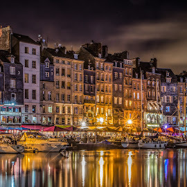 Honfleur - Brittany (France) by Emanuele Zallocco - City,  Street & Park  Historic Districts