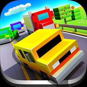 Cover art Blocky Highway: Traffic Racing