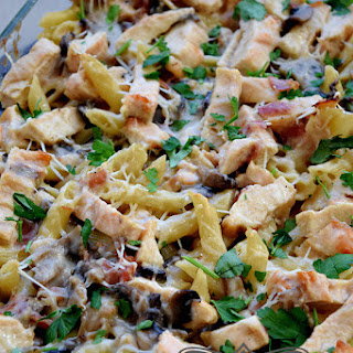 Creamy Chicken And Mushroom Pasta Bake Recipes
