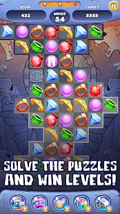 Ancient Jewels Match 3 APK for Bluestacks