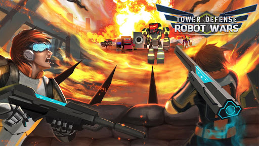 Tower Defense: Robot Wars - screenshot